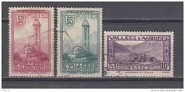 1932 YVERT N 36 , 36 , 44 - Usados