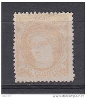 1870 EDIFIL N 113  ( * ) - 1873-74 Regencia