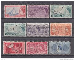 1953 - 58    VARIOS SELLOS - Bermudas