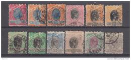 1894 - 1904  YVERT N   79  / 88   VARIOS SELLOS - Brasil