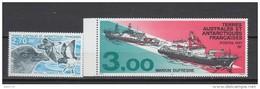 1996    YVERT  Nº  214  , 215      * * - Tierras Australes Y Antárticas Francesas (TAAF)