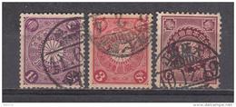 1906 - 1907      YVERT  Nº 112 / 114 - Japon
