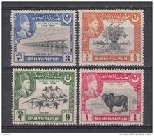 1949 YVERT N 18 / 21  MH / * / - Bahawalpur