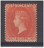 1883 -84 YVERT N 30  MH / * /  ( CON GOMA ) - St.Vincent (...-1979)