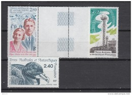 1995    YVERT  Nº  198 ,  204 , 205      * * - Tierras Australes Y Antárticas Francesas (TAAF)