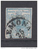1850  YVERT  Nº 5 - Lombardo-Vénétie