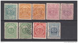 1892     YVERT  Nº  31 / 36 - Costa Rica