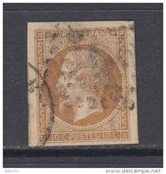 1853    YVERT  Nº 13 Ac  ( Bistre- Brun ) - 1853-1860 Napoléon III