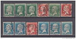 1923 YVERT N 170 / 81 - 1922-26 Pasteur