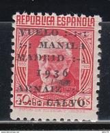 1936    EDIFIL Nº 741   /**/ - 1931-50 Nuevos & Fijasellos