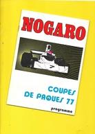 Programme Courses De NOGARO 1977 40 Pages + Couverture Format A5 - Programmes