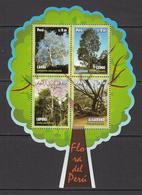 2014 Peru Trees Arbres  Souvenir Sheet   MNH - Peru