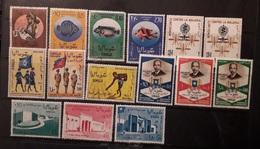 Somalia 1962 -1963 Lotto Pro Infanzia Fish Malaria Ausiliarie Femminili Indipendenza E 7° Fiera Mnh & Used - Somalia (1960-...)