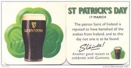 #D110-014 Viltje Guinness - Sous-bocks