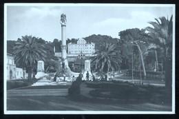FRASCATI - ROMA - 1928 - MONUMENTO AI CADUTI - FOTOGRAFICA - ANIMATA - Monumenti Ai Caduti