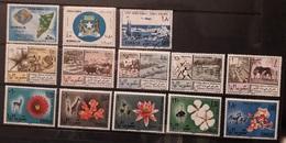 Somalia 1964 -1965 Lotto Credito Somalo 8 Fiera Animals And Flowers Mnh & Used - Somalia (1960-...)