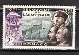 MONACO 1953 -  Y.T. N° 394  - NEUF** /2 - Monaco
