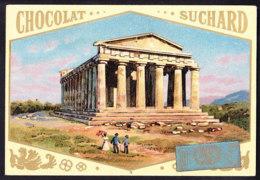 CHROMO Chocolat SUCHARD Temple De La Concorde Girgenti    Italie Italy   Serie 74 - Suchard