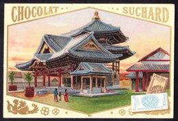 CHROMO Chocolat SUCHARD Temple Aux Cent Angles à Kioto Kyoto Japon Japan   Serie 74 - Suchard