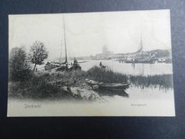 19924) DORDRECHT RIVIERGEZICHT NON VIAGGIATA MA SCRITTA - Dordrecht