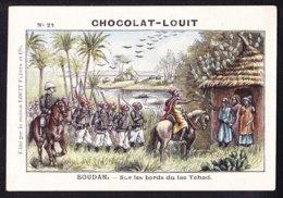 CHROMO Chocolat LOUIT Frères    Soudan Lac Tchad - Louit