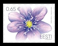 Estonia 2019 Mih. 951 Flora. Flowers. Liverleaf MNH ** - Estonia