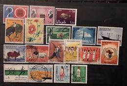 Somalia 1966 -1975 Lotto Various  Mnh & Used - Somalia (1960-...)