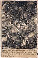 Franchigia POSTA MILITARE - Ill. MAZZONI - F/P - V: 1918 - Militari