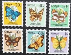 Kenya 1988-90 Butterflies - Kenya (1963-...)