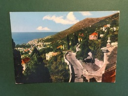 Cartolina S. Ilario - Genova - Panorama Verso Nervi - 1963 - Rimini