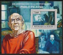 Burundi - 2013 - Bloc BF N°377 - Picasso - Neuf Luxe ** / MNH / Postfrisch - Picasso