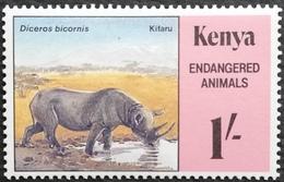 Kenya 1985 Endangered Wildlife - Kenya (1963-...)