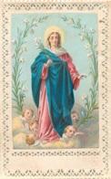 CANIVET IMAGE RELIGIEUSE  DENTELE 8.5 X 5.50 CM - Andachtsbilder