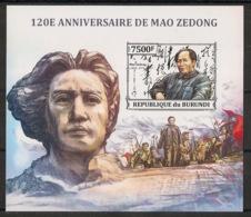 Burundi - 2013 - Bloc BF N°384 - Mao Tse Toung - Non Dentelé / Imperf. - Neuf Luxe ** / MNH / Postfrisch - Mao Tse-Tung
