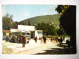 Bus Sokobanja 1964 Vintage Postcard - Buses & Coaches