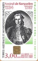TAAF - TF-STA-0012, Amiral De Kerguellen 1734-1797, Famous People, Stamps, 750ex, 7/97, Mint / Unused - TAAF - Franse Zuidpoolgewesten