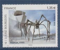 = Louise Bourgeois, Sculptrice D'Origine Française, Naturalisée Américaine N°4492 Oblitéré, Maman (Araignée Géante) 1999 - Frankreich
