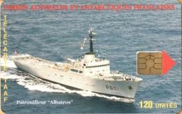 "TAAF - TF-STA-0017, Patrouilleur ""Albatros"", Ships, Warships, 750ex, 3/99, Mint / Unused - TAAF - Territori Francesi Meridionali"