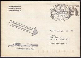 Germany Hamburg 1979 / Trains, Railway, Car, Bus, Ships / International Traffic Exhibition IVA '79 - Voitures