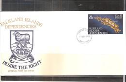 FDC Falkland Islands Dependencies - 1982 (to See) - Falkland