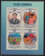 Burundi - 2013 - N°1982 à 1985 - Pierre Bonnard  - Neuf Luxe ** / MNH / Postfrisch - Cote 18€ - Arts