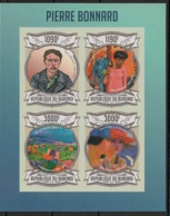 Burundi - 2013 - N°1982 à 1985 - Pierre Bonnard- Non Dentelé / Imperf. - Neuf Luxe ** / MNH / Postfrisch - Cote 18€ - Arts