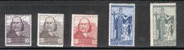SAN MARINO 1924 Garibaldi Scott Cat. No(s). 84-88 MH - Unused Stamps