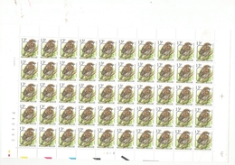 Blad Voorafgestempelde Zegels / Feuille Timbres Poste Préoblitérés 13 Fr  1994 - Préoblitérés