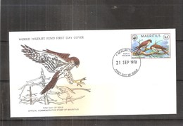 FDC Maurice - Rapace - Faucon - Maurice (1968-...)