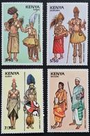 Kenya 1989 Costume LOT - Kenya (1963-...)