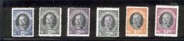 SAN MARINO 1926 Antonio Onofre Scott Cat. No(s). 97-102 MH - Unused Stamps