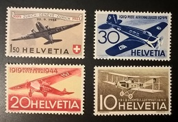 SVIZZERA 1944 POSTA AEREA - Svizzera