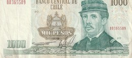 1000 Pesetas 1979 - Chili