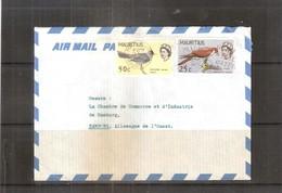 Lettre De Maurice Vers Allemagne De L'ouest - 1968 - Oiseaux (à Voir) - Maurice (1968-...)